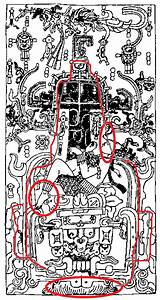 Mayan Astronaut Carving - Pics about space