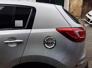 Accesorio Cromado Tapa Combustible Kia Sportage Revolution