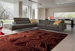 37 propositions d39un canape moderne pour votre sejour With tapis shaggy avec canapé grande profondeur d assise