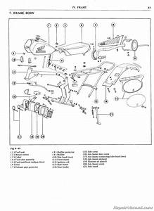 Honda Mr50 Motorcycle Service Manual And Parts Manual 1974