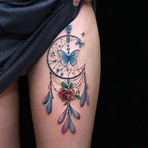 Attrape Reve Tatoo : tatouage attrape r ve signification id es 48 photos ~ Nature-et-papiers.com Idées de Décoration