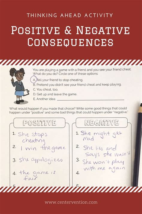 activity positive  negative consequences