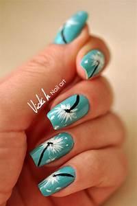15 dandelion nail ideas and tutorials
