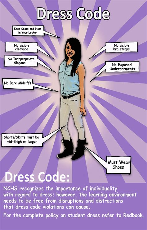 Elementary Dress Code by Information Dress Code