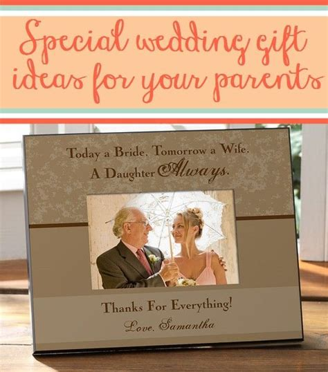 site    wedding gift ideas  parents