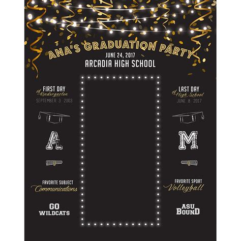 grad party custom printed backdrop backdrop express