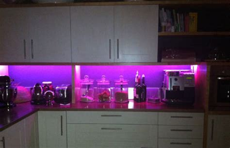 home dzine kitchen led lights for a kitchen
