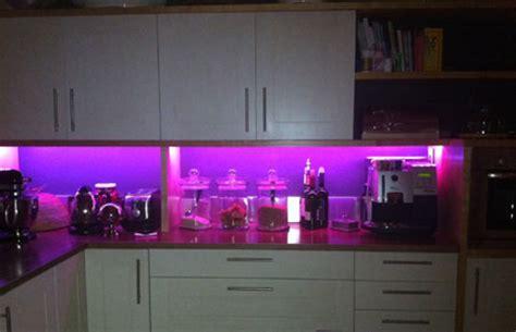 home dzine kitchen led lights for a kitchen