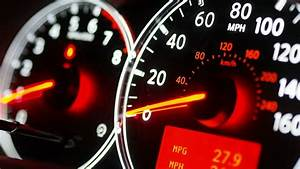 Auto Dashboard Gauges Indication Stock Footage Video