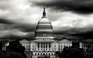 Desktop Wallpaper: White House Black White Photography ...