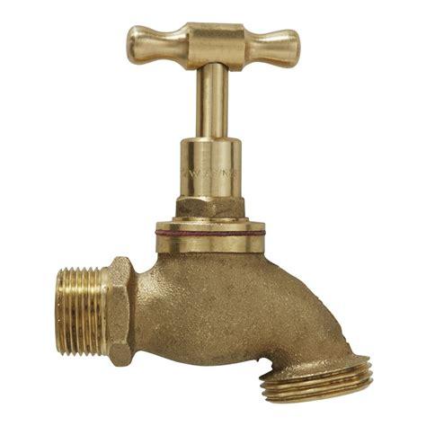 water faucet stainless steel 3 4 quot brass garden tap bunnings warehouse
