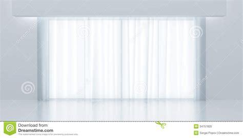 rideaux transparents photo stock image 34757820