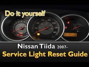 Nissan Tiida Service Light Reset Guide