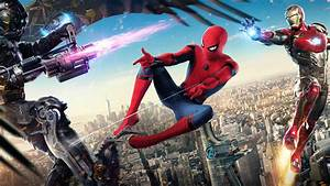 Wallpaper : Spider Man Homecoming 2017, Iron Man ...