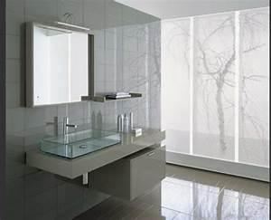 La vasque en verre fonctionnelle et tres deco for Salle de bain design avec vasque en verre rectangulaire