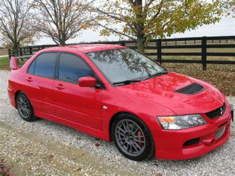 2006 Mitsubishi Lancer Evolution Mr For Sale 2006 mitsubishi lancer evolution mr by owner in columbus