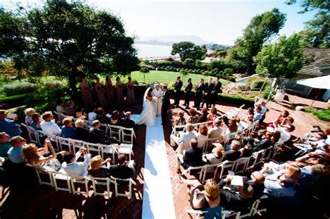 marin wedding venue garden center belvedere