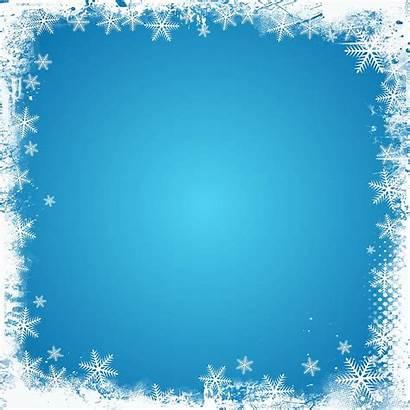 Border Holiday Templates Vector Drawing Snowflake