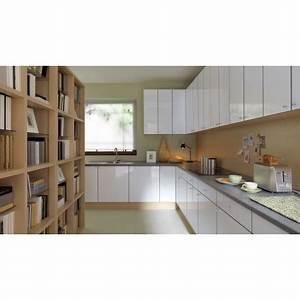 Küche 300 Cm : k che 300 cm weiss glanz pvc rand erweiterbar ~ A.2002-acura-tl-radio.info Haus und Dekorationen