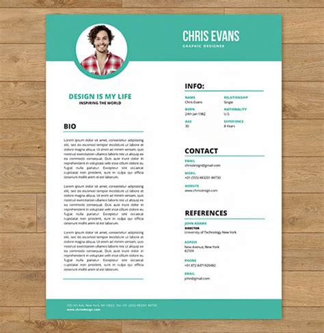 modern resume cv  cover letter