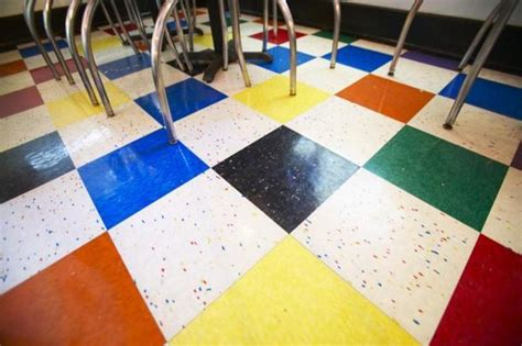 Self Sticking Floor Tiles by Cool Self Sticking Vinyl Floor Tiles For Your Interior