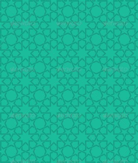 islamic green star pattern patterns backgrounds