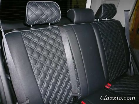 Quilted-type Clazzio Leather Seat Covers
