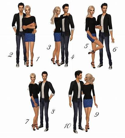 Couple Posebox Sims Poses Pose Cc Couples