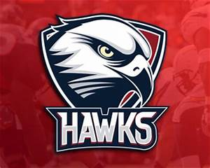 HAWKS Designed by Dick | BrandCrowd