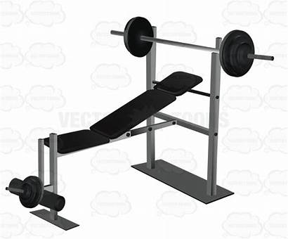 Cartoon Weight Lifting Clipart Fitness Bench Clipartmag