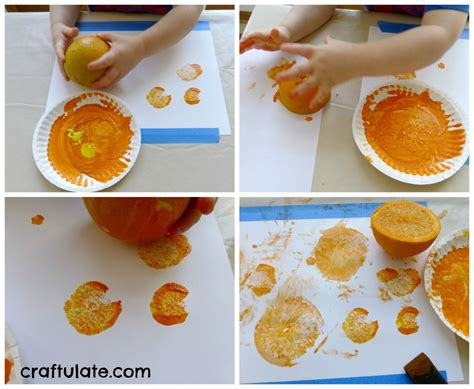 orange crafts and activities learning colours with brown 383 | Orange8 1024x841