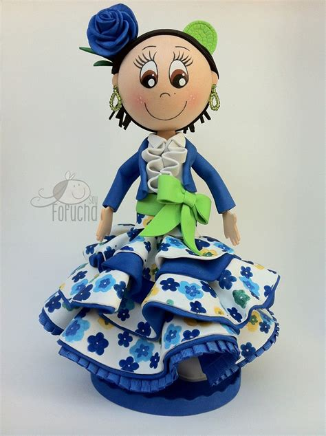 Fofucha flamenca http://handcraftpinterest blogspot com