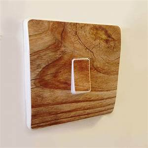Wood, Effect, Light, Switch, Covers, By, Oakdene, Designs