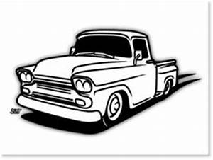 old truck drawing clipart truck pinterest route 66 With custom 66 chevy trucks