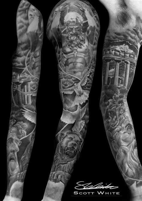 Scott White Tattoo Artist At Monumental Ink   Mythology tattoos, Greek god tattoo, God tattoos