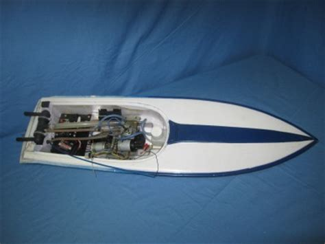 Traxxas Gas Boat by 32 Quot Gas Nitro Rc Boat Single Prop Complete W Traxxas