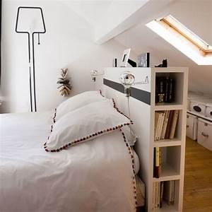 Tete De Lit Rangement : rangement chambre 11 id es de meubles de rangement astucieux c t maison ~ Teatrodelosmanantiales.com Idées de Décoration