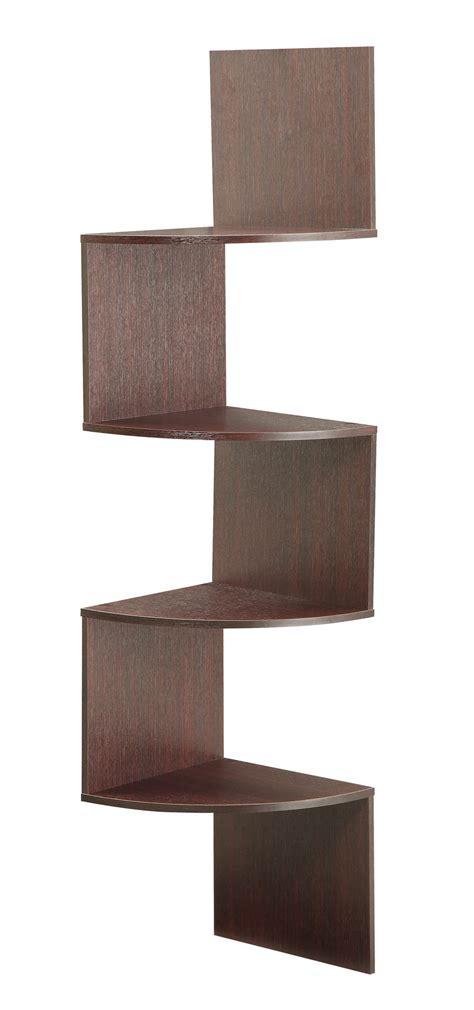 hanging corner shelf 4d concepts hanging corner storage in cherry beyond stores