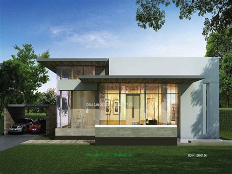 Modern Single Story House Plans Unique Single Story Home
