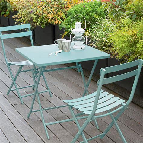 table de balcon pliante carree greensboro mint hesperide