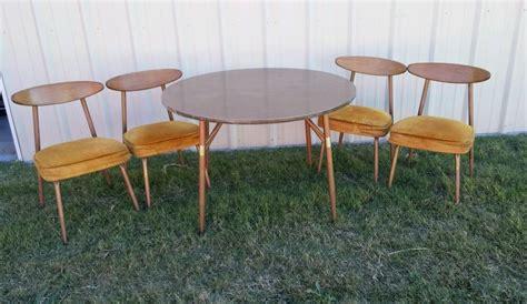 retro   vintage dining dinette kitchen  table