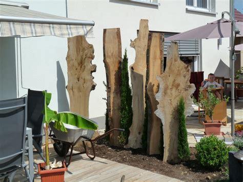 Holz Sichtschutz Zum Nachbarn