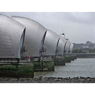 Panoramio - Photo of Thames Barrier London