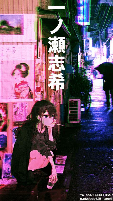 black japanese aesthetic wallpapers