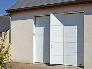 porte de garage projet sur mesure atelier madec nantes With porte de garage sectionnelle sur mesure