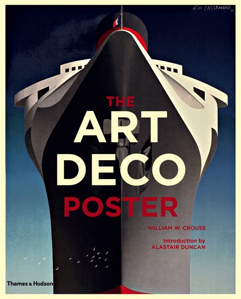 a book of deco posters thames hudson