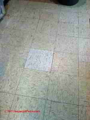 1960's Floor Tiles That May Contain Asbestos