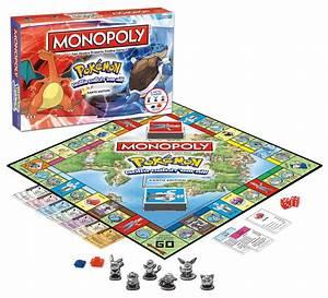 Amazon Com  Monopoly  Pokemon Kanto Edition  Game  Toys