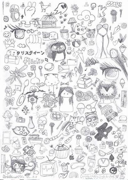 Random Drawings Draw Doodle Read Doodles Coloring