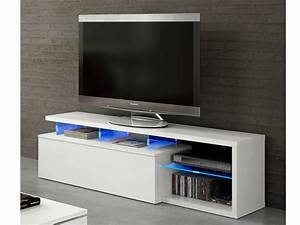 Mesa de Tv para salón blanca, mueble mesa de comedor con bandeja